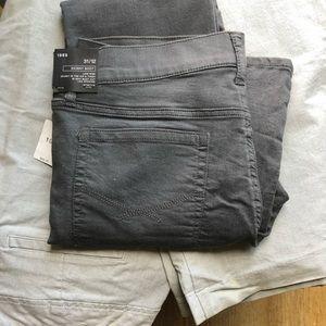 Gap 1969 Skinny Boot Gray Jeans